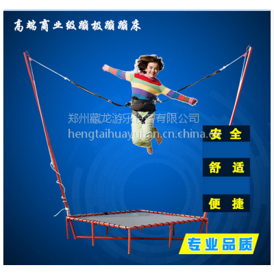 郑州卖的蹦极床多少钱一台 广场蹦极床收益怎么样 方形蹦极加工厂家