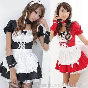 角色扮演游戏制服诱惑日本动漫美女女仆装女佣服COSPALY演出服装