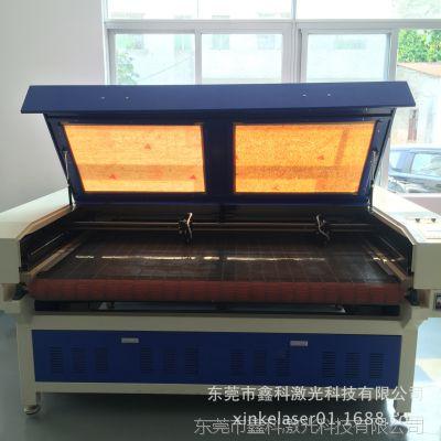 全自动送料大幅面布料皮革弹性膜开料激光切割机雕刻机