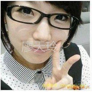 供应9036非主流潮男女时尚豹纹眼镜架黑色小方形 眼镜框批发