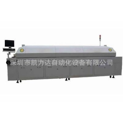 深圳厂家供应 上八下八温区 全自动电脑控制 大型无铅回流焊接机
