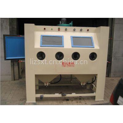 供应厂家直销手动喷砂机 双工位喷砂机 根据客人要求定做