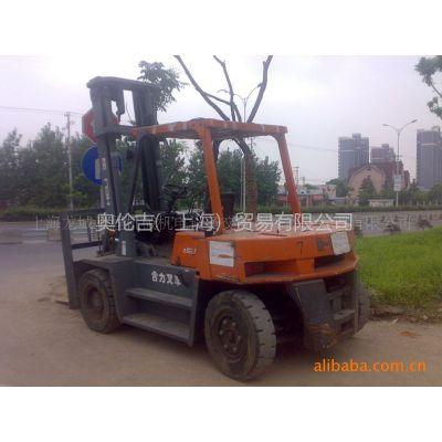 供应叉车 合力7吨叉车 二手物流设备