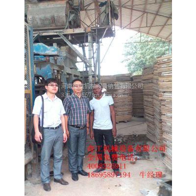 建材加工生产设备 全自动免烧制砖机 空心打砖机 节能高效