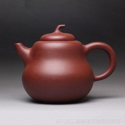 一公紫砂100%纯正品质宜兴正品原矿紫砂手工制作茶具大葫芦壶