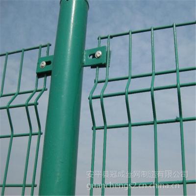 三角弯护栏#浸塑围墙网#荷兰网
