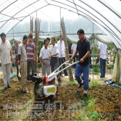 小型手扶旋耕厂家直销 微耕机 犁地 开沟起垄施肥播种机