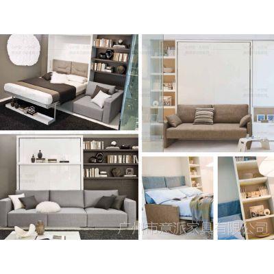 壁柜床沙发床1200米1500床竖翻床横翻壁床翻板床客厅家具五金配件