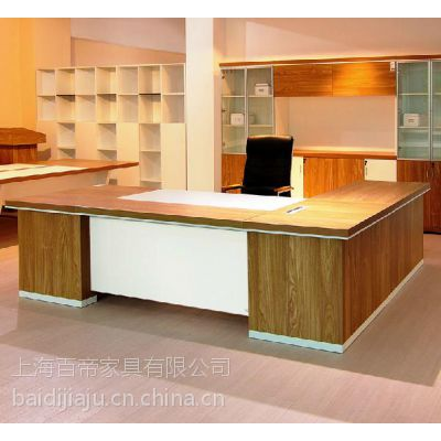 百帝大班台主管台 简约现代办公家具 办公桌 老板桌 电脑桌台式