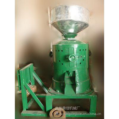 鼎信高效碾米机 立式打米机 家庭用谷物脱皮机 快速去皮机型号