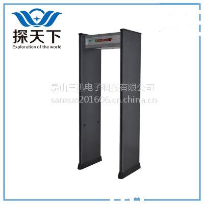探天下ETW-600B(PW)12区200级LED显示室外安检门