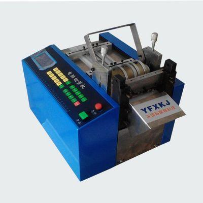 供应广东硅胶片裁切机 PVC电池电线热收缩套管切管机厂家 热缩管裁管机