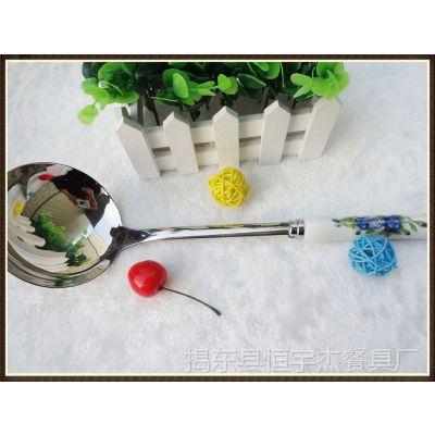 荣誉奖品|可印字|年会表彰纪念品|商务礼品|陶瓷柄厨具勺铲六件套