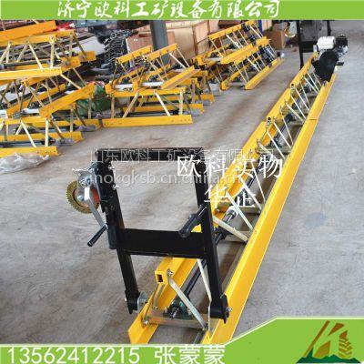 供应欧科6米汽油摊铺机 桥面框架式整平机