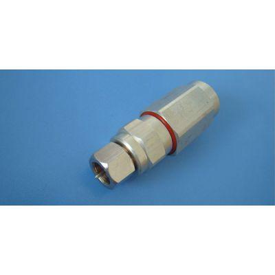 供应供应-9二节防水头,同轴电缆连接器,生产头插座,安防配件,连接器,双通