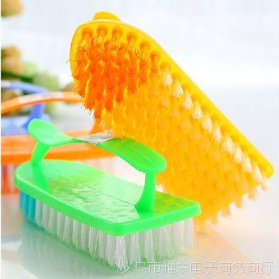 1228优质居家带手柄清洁刷洗衣刷 居家带手柄洗衣刷60g