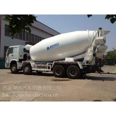 中国重汽豪沃底盘亚特上装14方国五搅拌车型号ZZ1317N4347E1