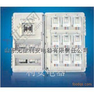 供应齐全透明电表箱左右十六表位