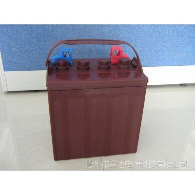 供应豪华电动观光浏览车电池
