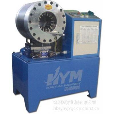 供应工程机械油管锁管机,液压电动油管扣压机,高压油管压管机生产厂家