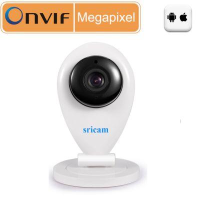 施瑞安Sricam SP009 高清wifi远程监控 卡片机 网络摄像机