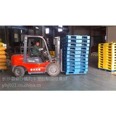 物流仓储塑料托盘、叉车塑料托盘、上货架专用叉车塑料托盘