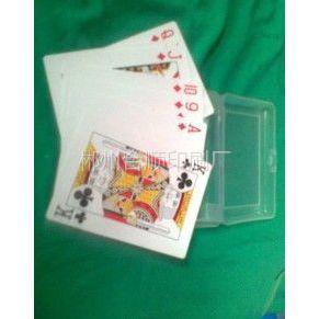 供应郴州扑克牌印刷,汽车宣传广告扑克牌,黑色背纹,正面正常扑克设计