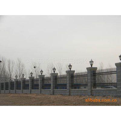供应各种热镀锌 铝合金 pvc 材料的新型护栏