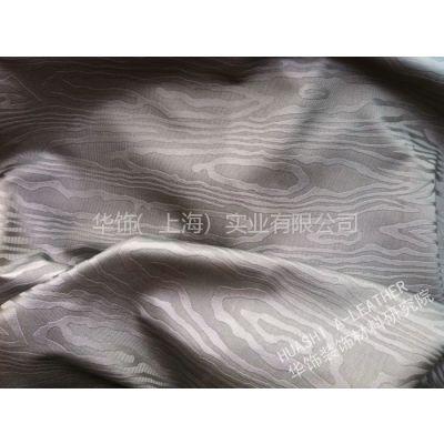 供应皮革工厂来样加工 装饰革软包移门沙发皮革材面料 PVCPU 高山流水