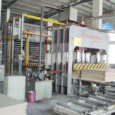 供应青岛国森制造竹木复合地板成套加工设备生产线