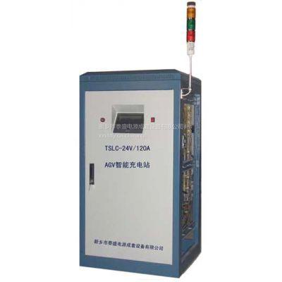 泰盛牌TSLC-24V/20~300A型AGV搬运机器人智能充电站