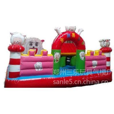 供应江苏地区郑州三乐SL-cb12动物大联欢充气城堡,充气蹦蹦床