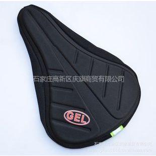 供应旗炫3D加厚捷安特GEL自行车坐垫套 山地车骑行座套纯硅胶座垫套