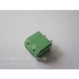 深圳博达供应蓝色环保灯具照明用接线端子 301-5.0线路板端子 PCB板接线器