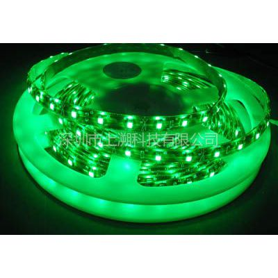 供应LED灯条灯带3528 60灯 滴胶防水(绿光)