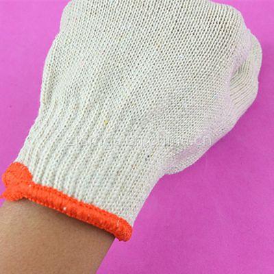 劳保用品厂家直销加密棉纱耐磨劳保防护手套便宜纱线沙手套劳保线手套500g
