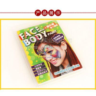 雄狮6色彩绘蜡笔 儿童节画脸笔 脸部彩绘笔