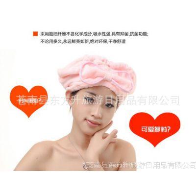 直销浴帽宾馆酒店一次性可爱的浴帽毛巾布