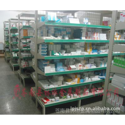 温州厂家特价医用双面库房药架 温州可调式西药架 医用摆药架