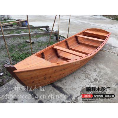 手划中国风小木船 经典欧式船 渔船 景观船 装饰船