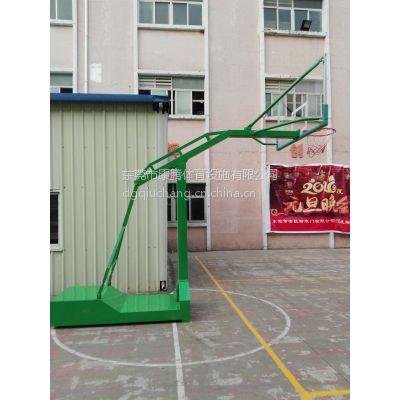 惠州球场运动篮球架 户外固定式圆管篮球架 移动球架厂家直销 包送货安装