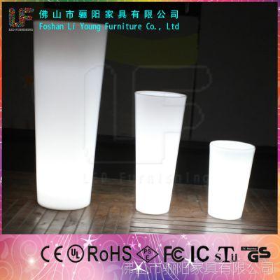 厂家批发发光花盆 景观花盆容器 花园别墅LED发光花盆 LGL01-0623