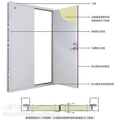 乙级A类防火门厂家 定制防火门包安装 上海