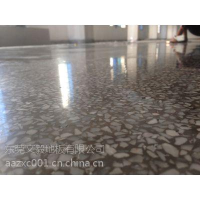 衡阳市水磨石翻新-----衡阳市旧水磨石抛光-----像镜子的地面