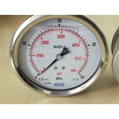 优势直供德国WIKA压力/温度测量仪表设备233.50-F-EG610P
