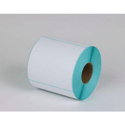 三层标签纸 3层条码纸 蓝底不干胶 电商电子面单贴纸