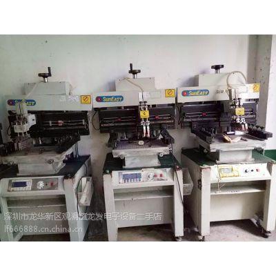 供应二手日东半自动锡膏印刷机/丝印机SEM-300