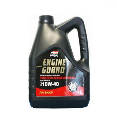 供应美国迈浪半合成汽油机油SN10W-40发动机油车用润滑油厂家直销