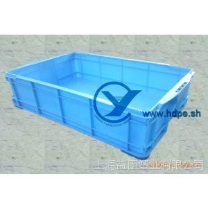 供应塑料周转箱525箱可叠式塑料制品箱筐