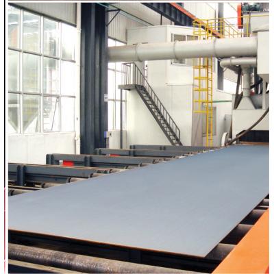 供应厂家供应Q6915卧式钢板除锈抛丸机 价格优 品质好